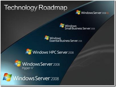Windows 7 的伺服器版就是 Server 2008 R2?
