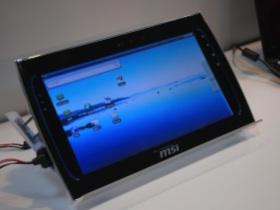 【Computex 2010】想玩Android平板電腦,請看MSI WindPad 110