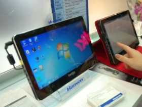 【Computex 2010】漢王TouchPad超小型平板電腦