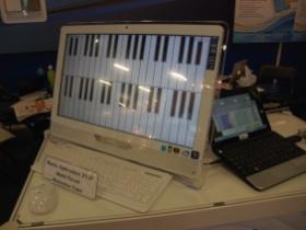 【Computex 2010】電阻式面板也有十點觸控