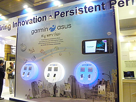 【 Computex 2010】Garmin-Asus首款Android 導航機現身