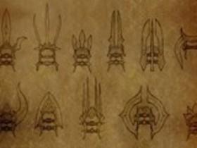 【暗黑破壞神III】[暗黑III] 武道家(Monk)武器草圖