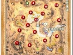 【奇夢之星WISH】【奇夢之星】地圖攻略:爾巴侖沙漠