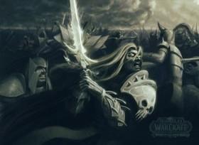 【魔獸世界】Fan Art:WOW阿薩斯+SC狂戰士