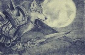 【魔獸世界】Fan Art:狼人死騎