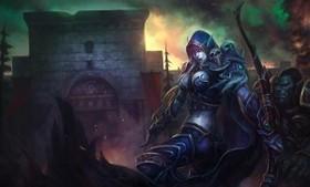 【魔獸世界】Fan Art:幽暗城之戰