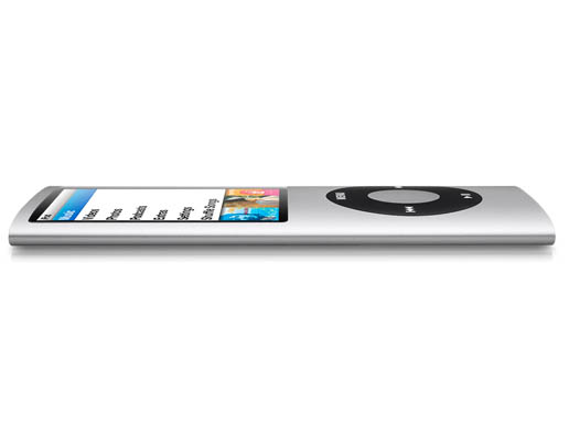 骨感 iPod nano 窈窕更加炫麗