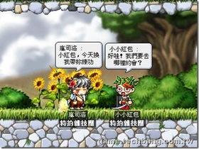 【楓之谷】【植物成語】花拳繡腿