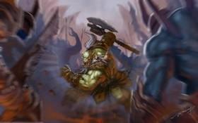 【魔獸世界】官網新Fan Art:阿薩斯也許可以是這麼帥