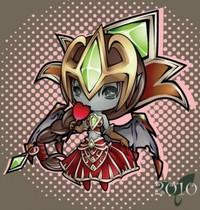 【魔獸世界】官網新Fan Art:超萌的血腥女王(可以吃嗎)