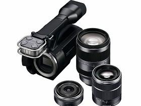 DV也可以換鏡頭:Sony NEX-VG10