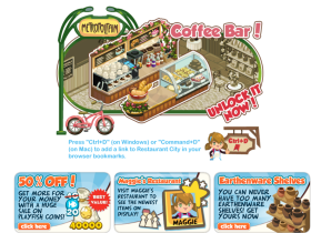 【Restaurant City】09/14 法國巴黎街角咖啡吧