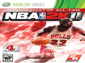 【電視遊樂器】預購及首購《NBA 2K11》送「虛擬人偶 Michael Jordan公牛隊主場球衣下載卡&時尚護腕」