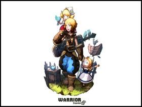 【龍之谷】戰士系:戰士+劍聖+傭兵