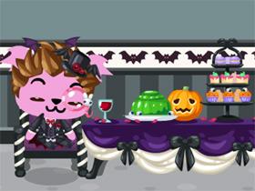 【Pet Society】萬聖節怎麼可以少了吸血鬼呢?