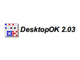 DesktopOK桌面圖示的超級倉庫番