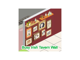 【Restaurant City】Busy Irish Tavern Wall抽獎串