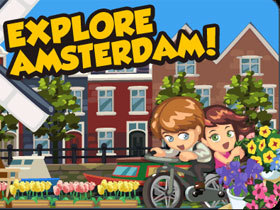 【Restaurant City】3/16 阿姆斯特丹風車之旅