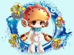 【美眉夢工廠】機械蘿莉小女僕,MM金色琴弦歡樂送!