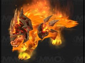 【魔獸世界】4.2:范達爾‧鹿盔的火焰貓形態!