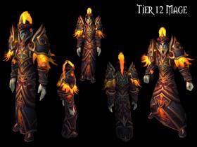 【魔獸世界】【4.2】【火源的怒焰】【T12套裝總覽】:法師