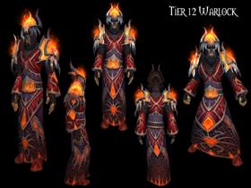 【魔獸世界】【4.2】【火源的怒焰】【T12套裝總覽】:術士