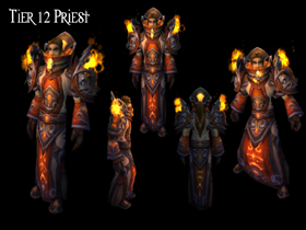 【魔獸世界】【4.2】【火源的怒焰】【T12套裝總覽】:牧師