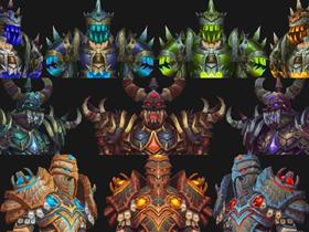 【魔獸世界】【4.2】S10鎧甲職套裝:戰士、死騎、聖騎