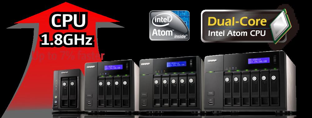 威聯通發表新款企業級高效能Turbo NAS Pro+ 系列網路儲存伺服器