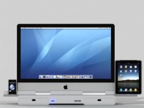 iMac、iPhone、iPad、iPod 四機合體蘋果王