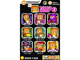 【掌機與手機遊戲】一次給你16種遊戲享受!Tappi Bear超Q風可愛出擊!