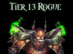 【魔獸世界】4.3:盜賊T13套裝和過往系列回顧
