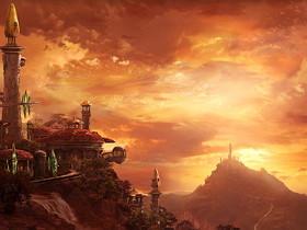 【魔獸世界】【桌布下載】燃燒的遠征主題桌布