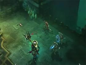 【暗黑破壞神III】【影片】等級1裸體無道具巫醫單吃骷髏王