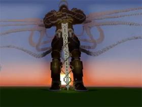 【暗黑破壞神III】【D3粉絲團】泰瑞爾 Tyrael 的 MineCraft 巨大模型