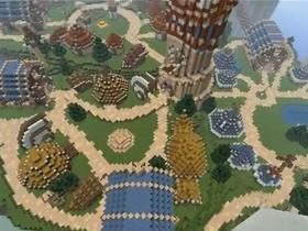 【魔獸世界】【暴雪影片館】Minecraft:打造雷霆崖