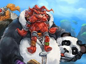 【魔獸世界】【暴雪美術館】Fan Art:矮人崛起之胖達利亞之謎?