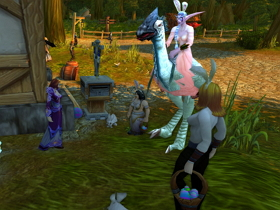 【魔獸世界】【魔獸節慶】『貴族花園』於4月8日展開!白色陸行鳥現身