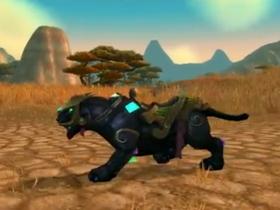 【魔獸世界】【5.0】珠寶學新坐騎:瑪瑙石黑豹