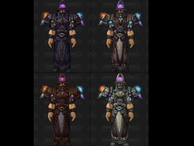 【魔獸世界】【5.0】挑戰模式:法師、戰士職業套裝模組