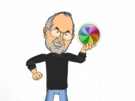 冤家還是老的好,Steve Jobs vs. 比爾蓋茲 釘孤枝