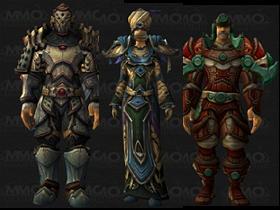 【魔獸世界】【5.0】5人副本套裝:鎧甲、皮甲、布甲裝備模組預覽