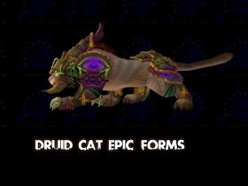 【魔獸世界】【5.0】戰貓豋場!德魯伊天賦「神靈化身」新模組