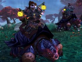 【魔獸世界】【5.0】熊貓人坐騎原來是龍龜啊!