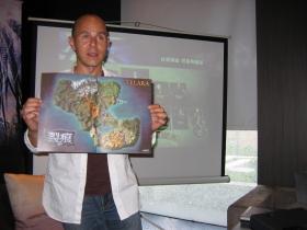 【裂痕】製作人Scott Hartsman來台為《裂痕》造勢,首度披露2.0資料片《風暴軍團》精彩內容