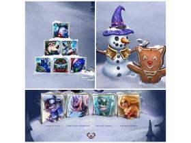 【英雄聯盟】Season 3季前更新 奈德麗新裝登場  冬至慶典熱鬧登場 英雄一同換裝慶聖誕