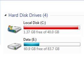 硬碟又爆了?先從 Windows 7 媒體櫃大掃除
