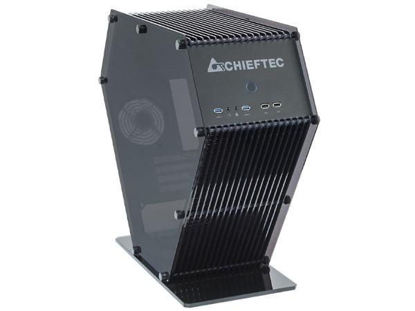 造型機殼再添一咖,Chieftec SJ-06B 鑽石六角形登場