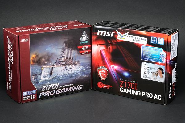 Asus、MSI 狹路相逢:Z170 電競 Mini-ITX 主機板實測