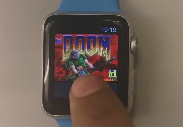 在Apple Watch上玩經典第一人稱射擊遊戲Doom